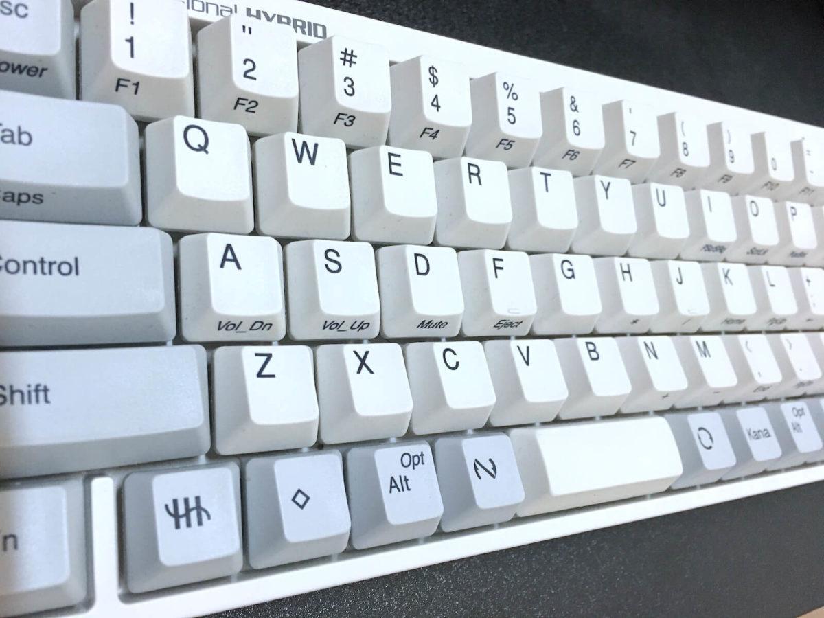 HHKB Professional HYBRID Type-S 日本語配列/白