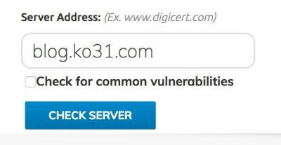SSLチェッカー