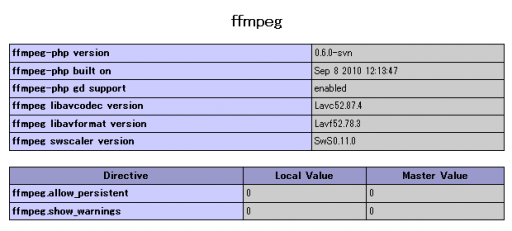 phpinfo_ffmpeg