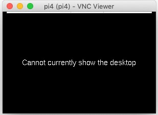 Cannot currently show the desktop